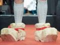 Der Ñverr¸cktesteì Schuh der Welt ist eine fleischfressende