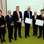 Auszeichnungen für vorbildliches Normungs- und Normenmanagement