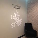 Britischer Modefilialist Topshop eröffnet Flaggschiff in Amsterdam
