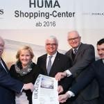 SES: Grundstein für neues HUMA Shopping-Center in Wien-Simmering gelegt
