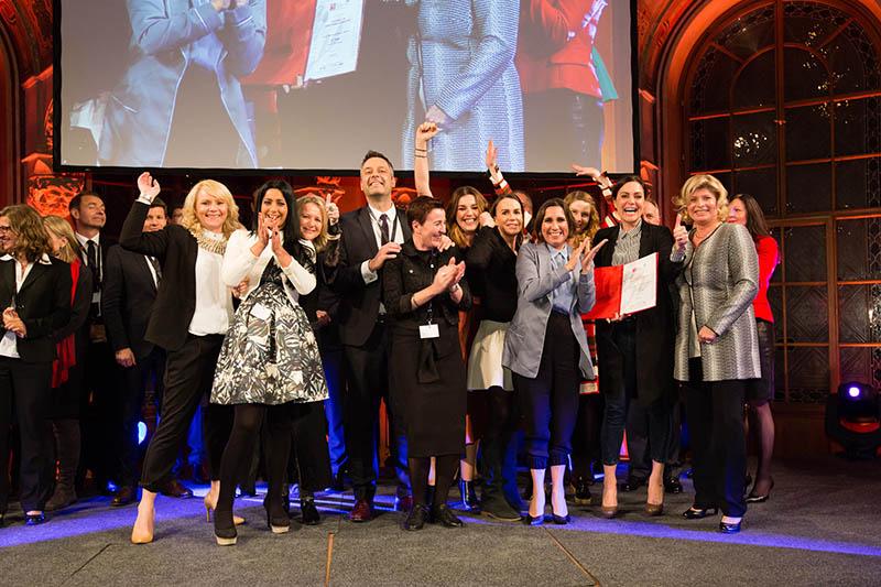 """H&M Österreich von GREAT PLACE TO WORK® als """"Beste Arbeitgeber 2015"""" ausgezeichnet"""