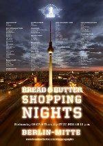 BREAD & BUTTER Shopping Night in Berlin-Mitte