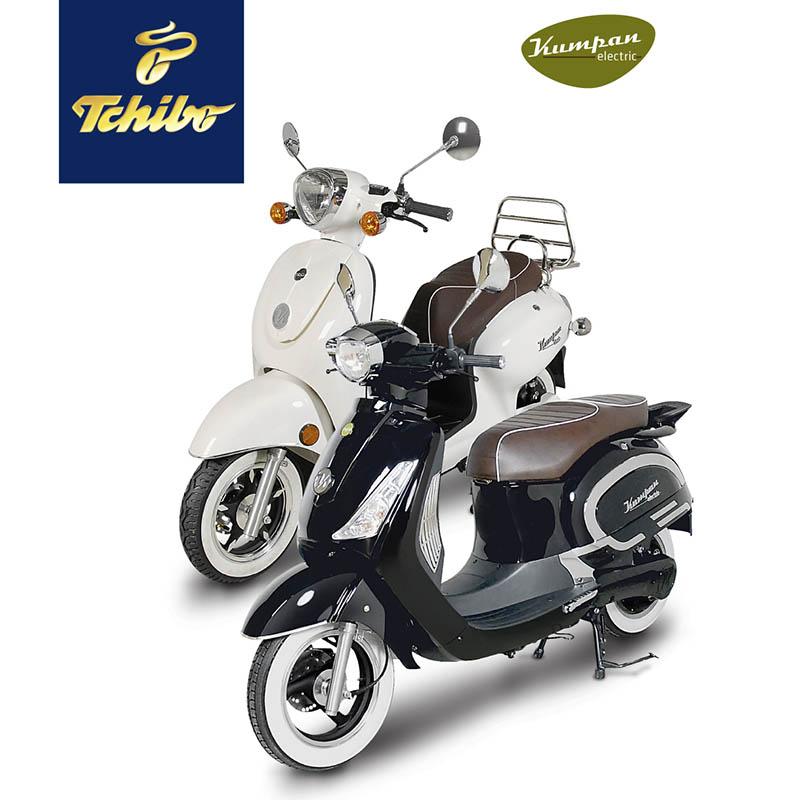 Elektro-Roller im Retro-Look bei Tchibo